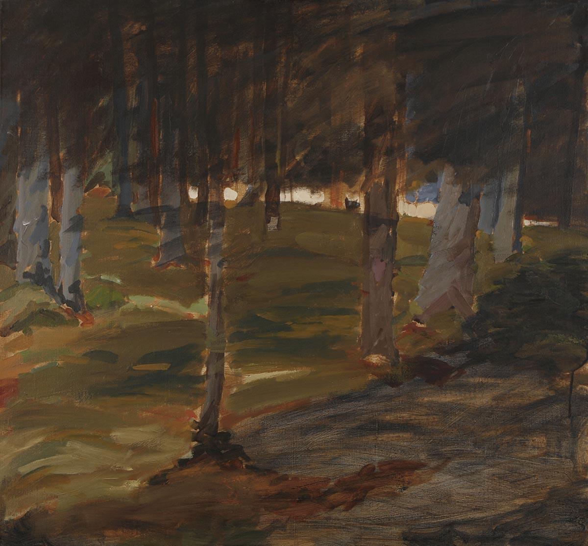Sal, Akryl på duk, 89x96 cm, 2013