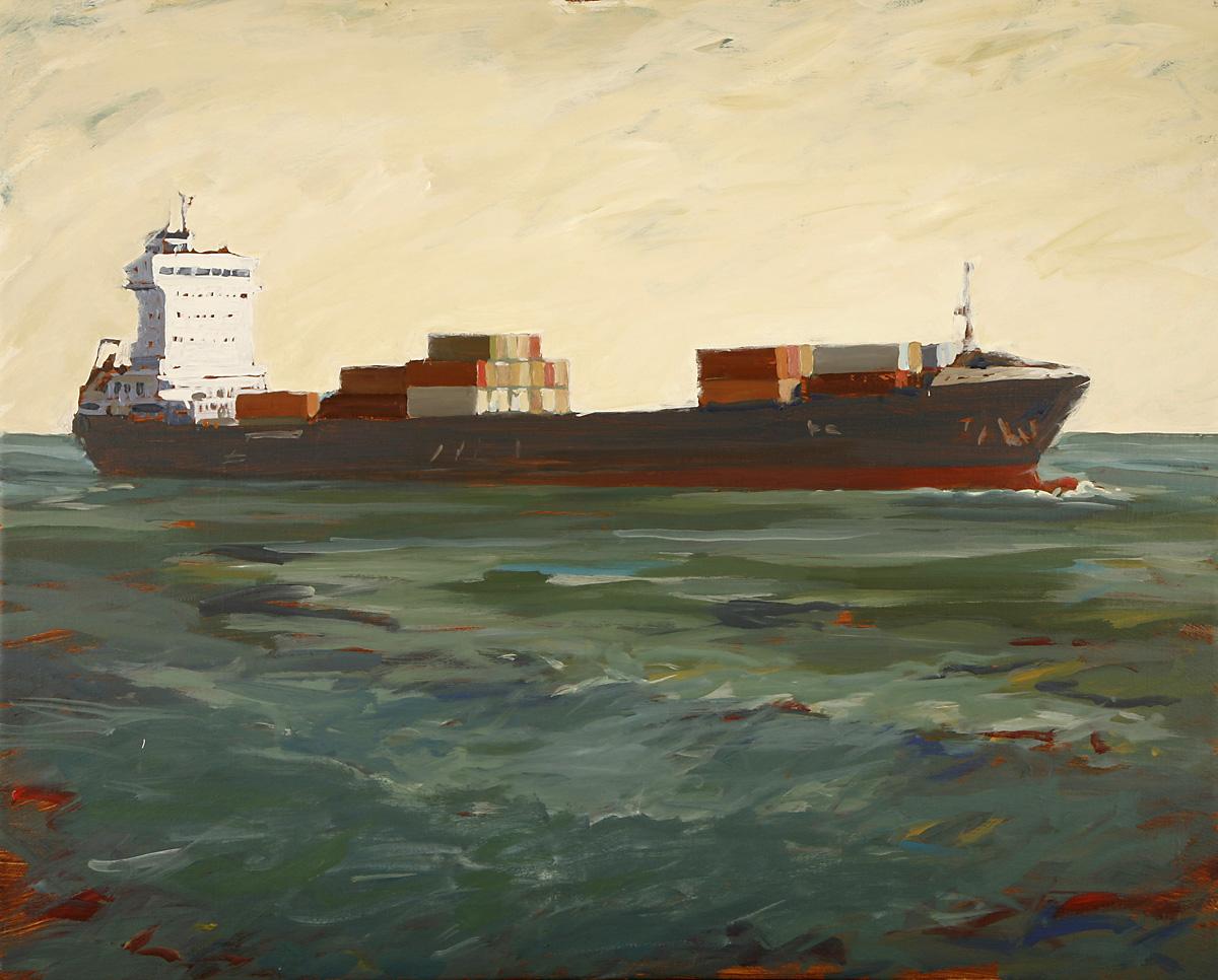 Civilisation 8, Akryl på duk, 100x81 cm, 2014
